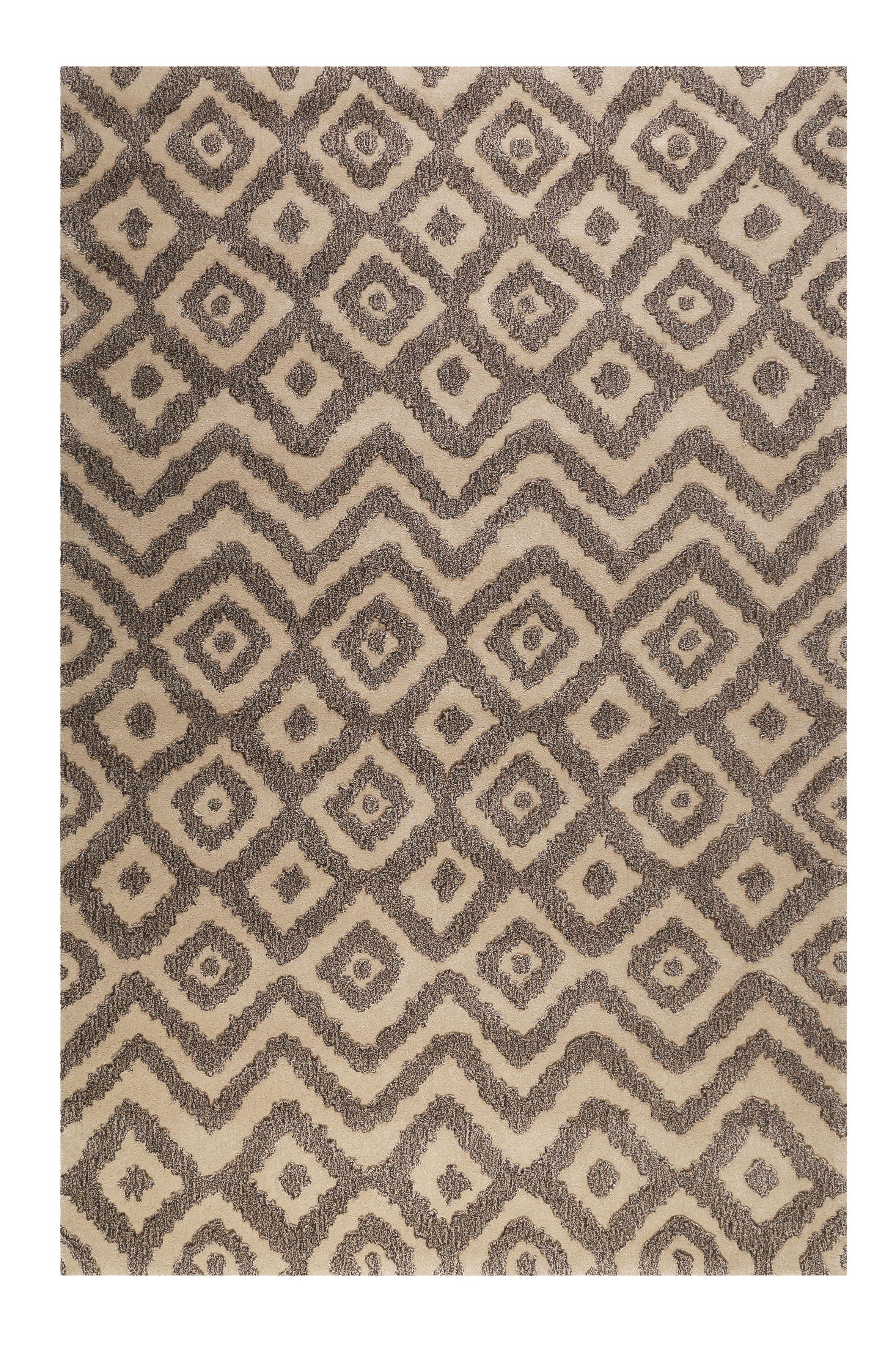 Esprit Kurzflor Teppich Aus Wolle Africa Ethnic Taupe Braun Moderne Kurzflor Teppiche Rugs Ethnic Und Area Rugs