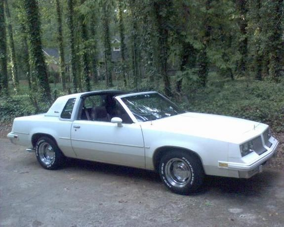 1984 Cutlass Supreme T-Top - mine looked exactly like it