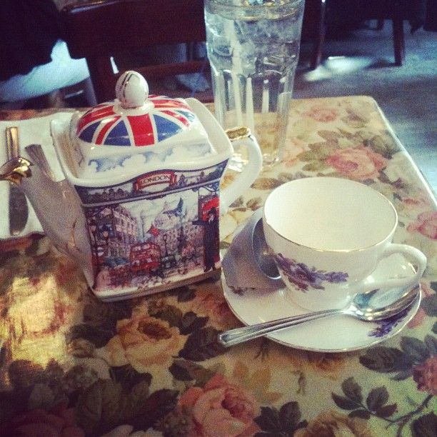 one of our many lovely tea pots