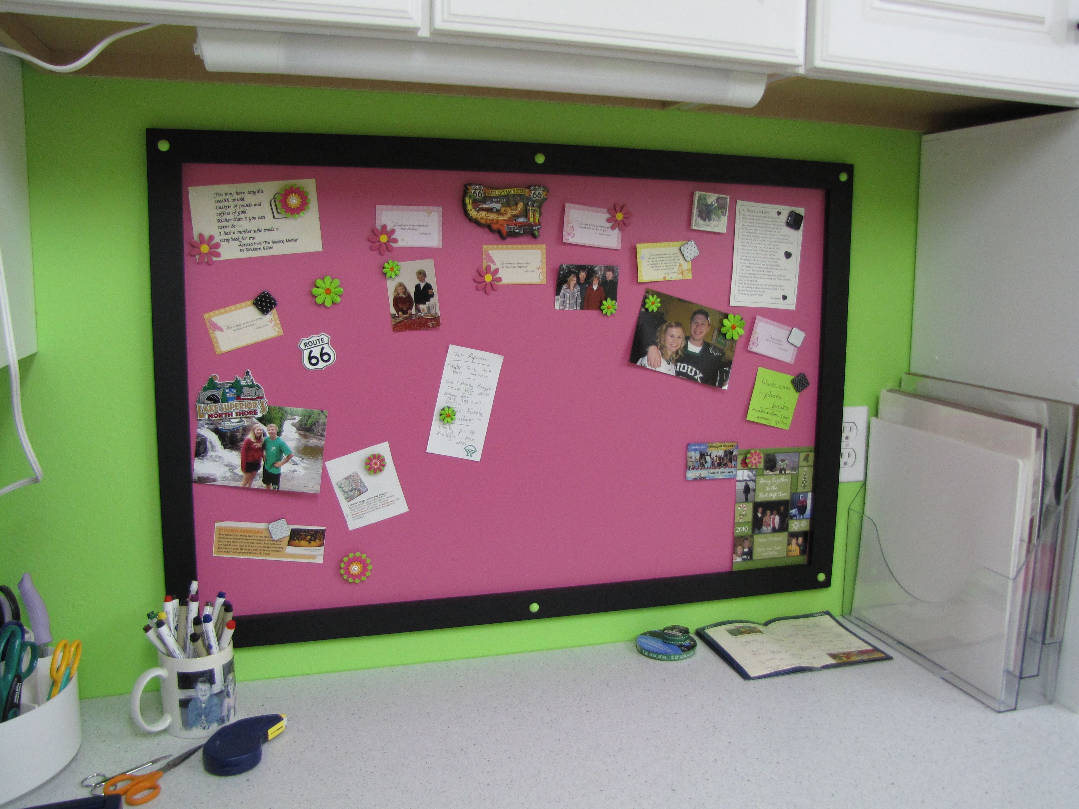 Magnetic Bulletin Board Decorating Ideas Pinterest