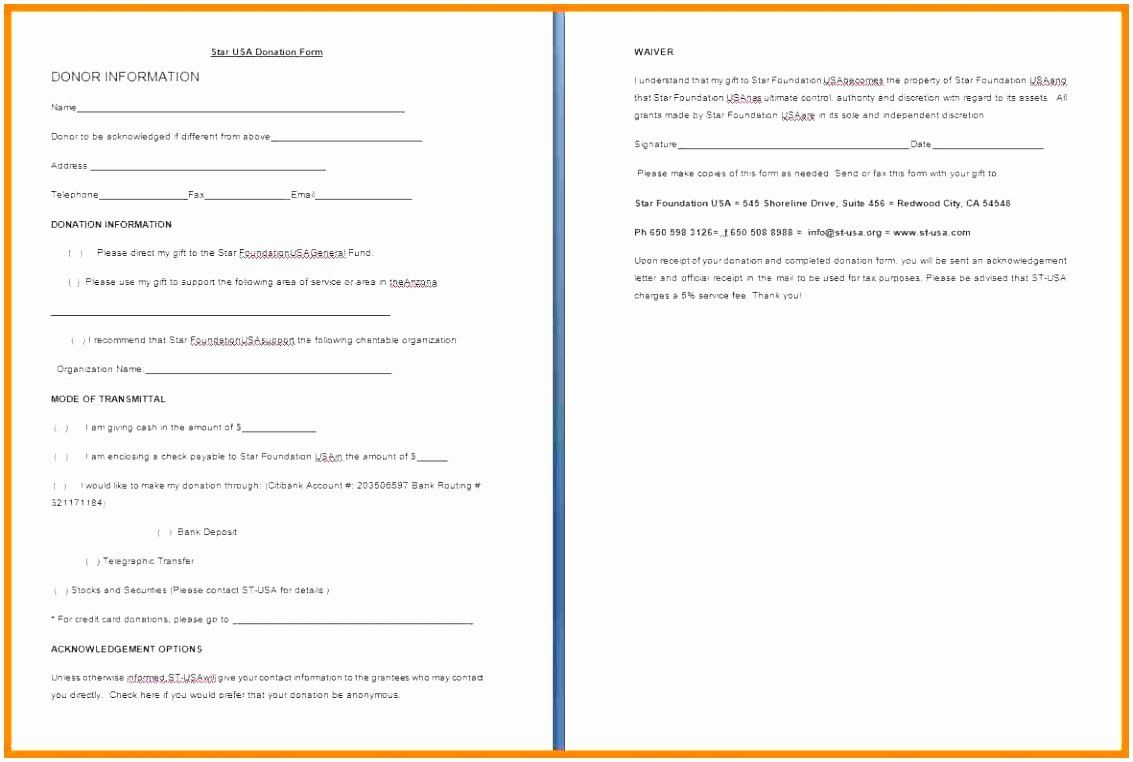 Pledge Card Template Word New Pledge Card Template Word Colesecolossus Donation Form Donation Request Form Free Proposal Template