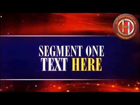 15 قالب After Effects من مجموعة Ready2go هارد المصمم العملاق Broadway Shows Text Broadway