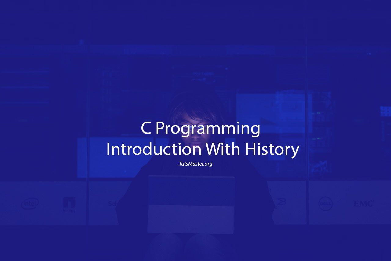 C Programming Introduction With History With Images