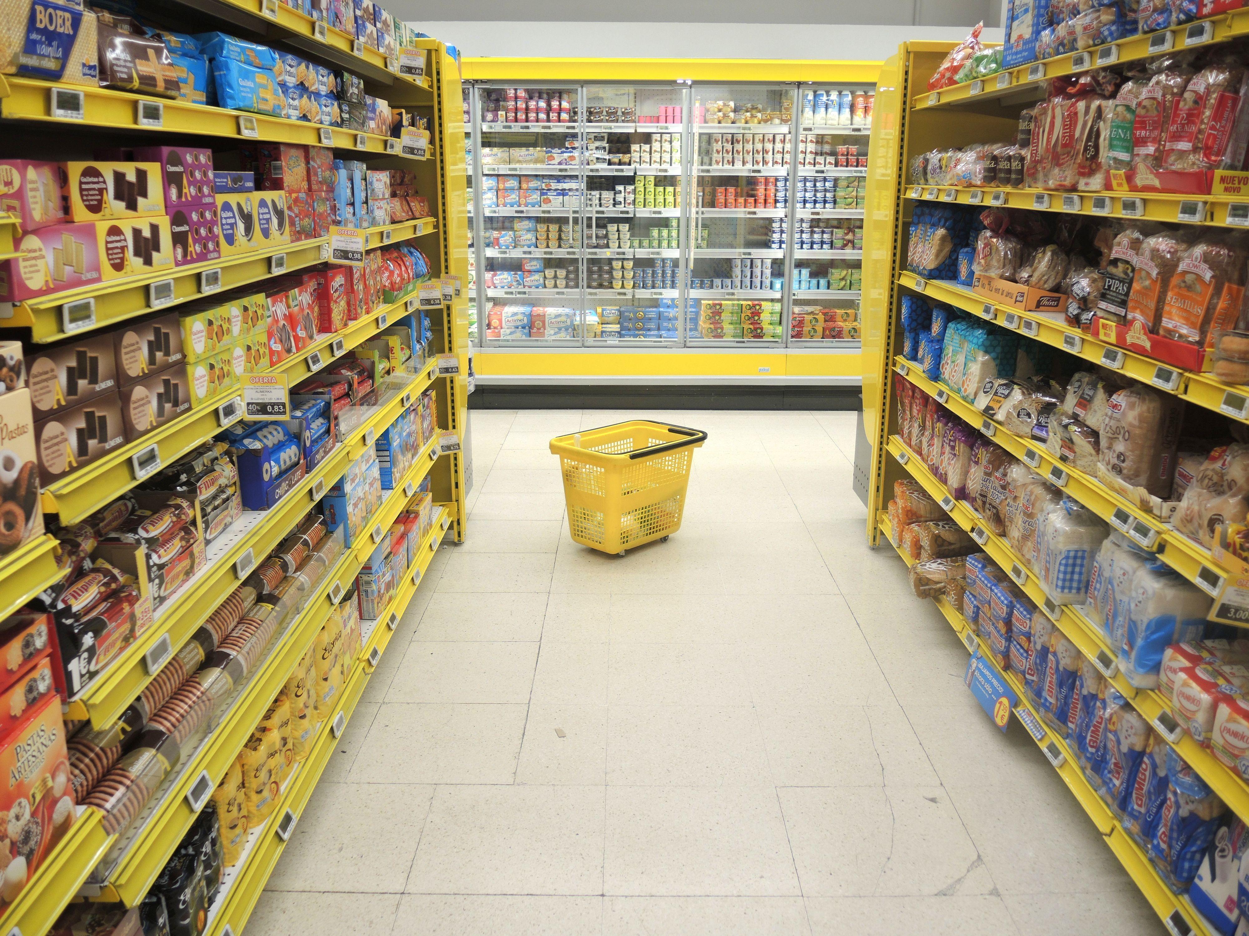 comida ultraprocesada supermercado