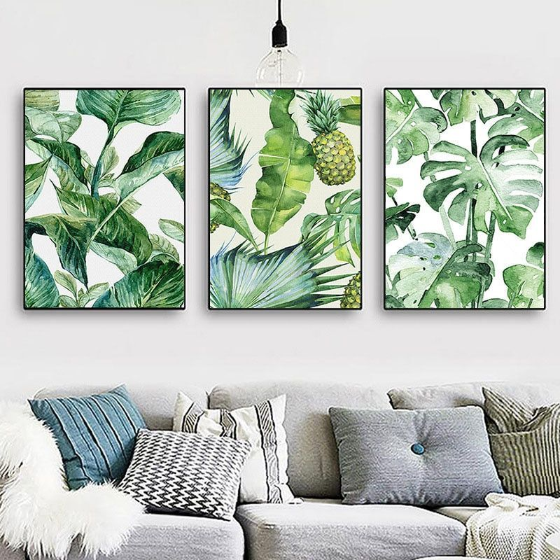Nordic Style A4 Poster Hawaii Tropical Forest Tree Art Print Canvas Painting Monstera Leaf Landscape Picture Tropical Leaf Decor Leaf Decor Monstera Leaf Decor But even those away from the equator can get in on the fun with the right choice of plants and. pinterest