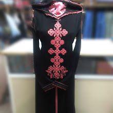 57 جلابة مغربية ثوب المليفة و خدمة البرشمان بالسفيفة Moroccan Caftan Fashion Caftan