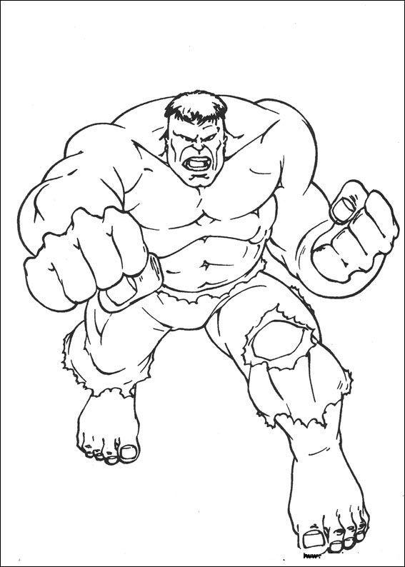 Hulk Ausmalbilder Gratis Ausmalbilder   Superhelden ...