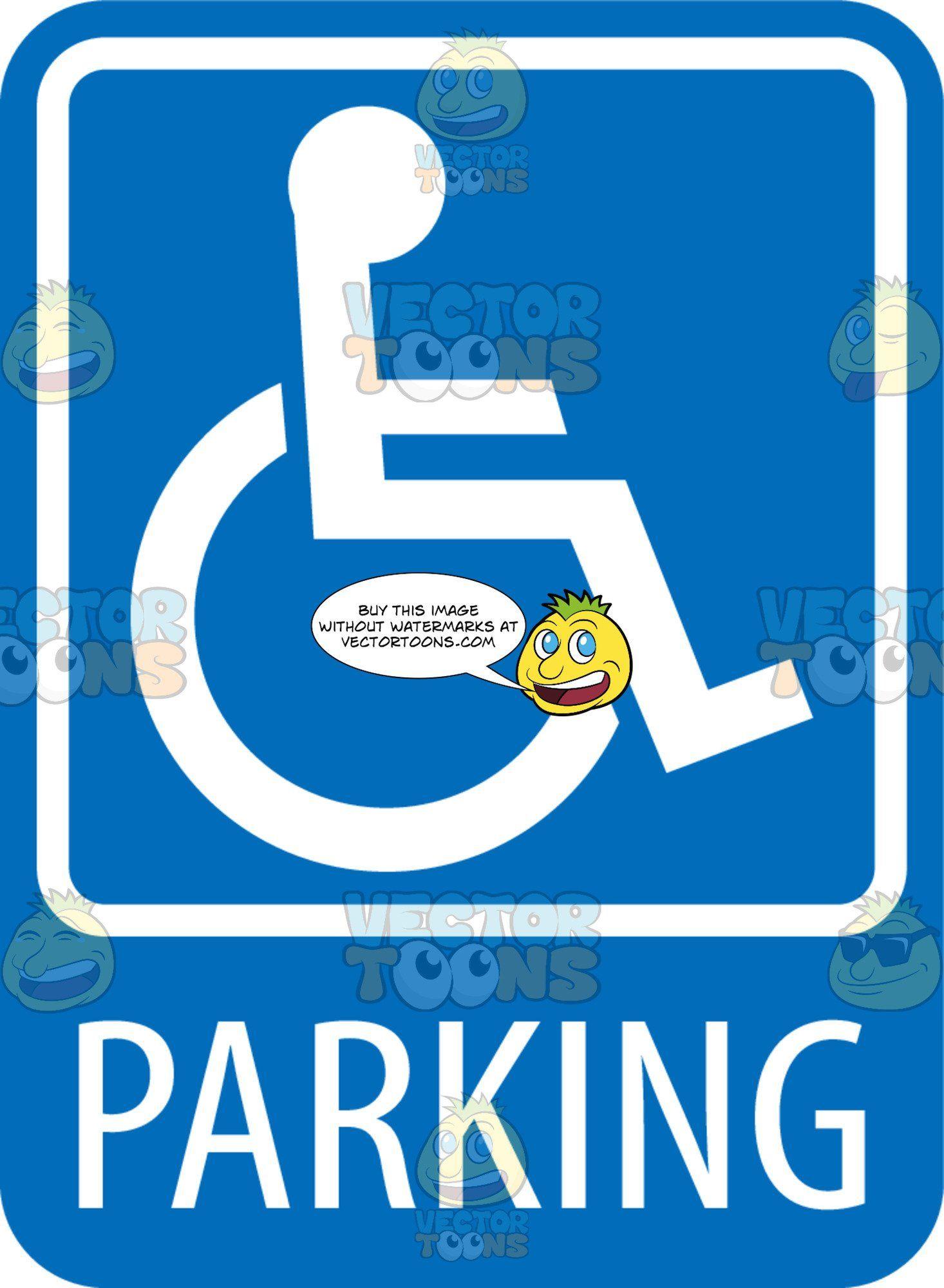 - Disabled Parking Sign Disabled Parking Sign, Park