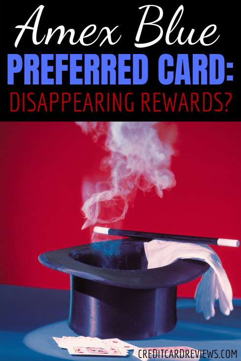 Amex Blue Cash Preferred Card: Disappearing Rewards   Amex blue cash, Rewards credit cards ...