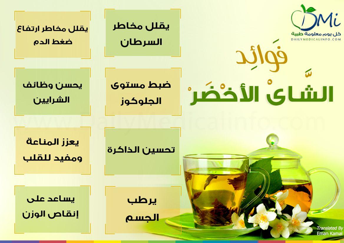 اشربوا الشاي فهو سبب للحصول على تلك الفوائد Infographic Health Water Fasting Lose Water Weight