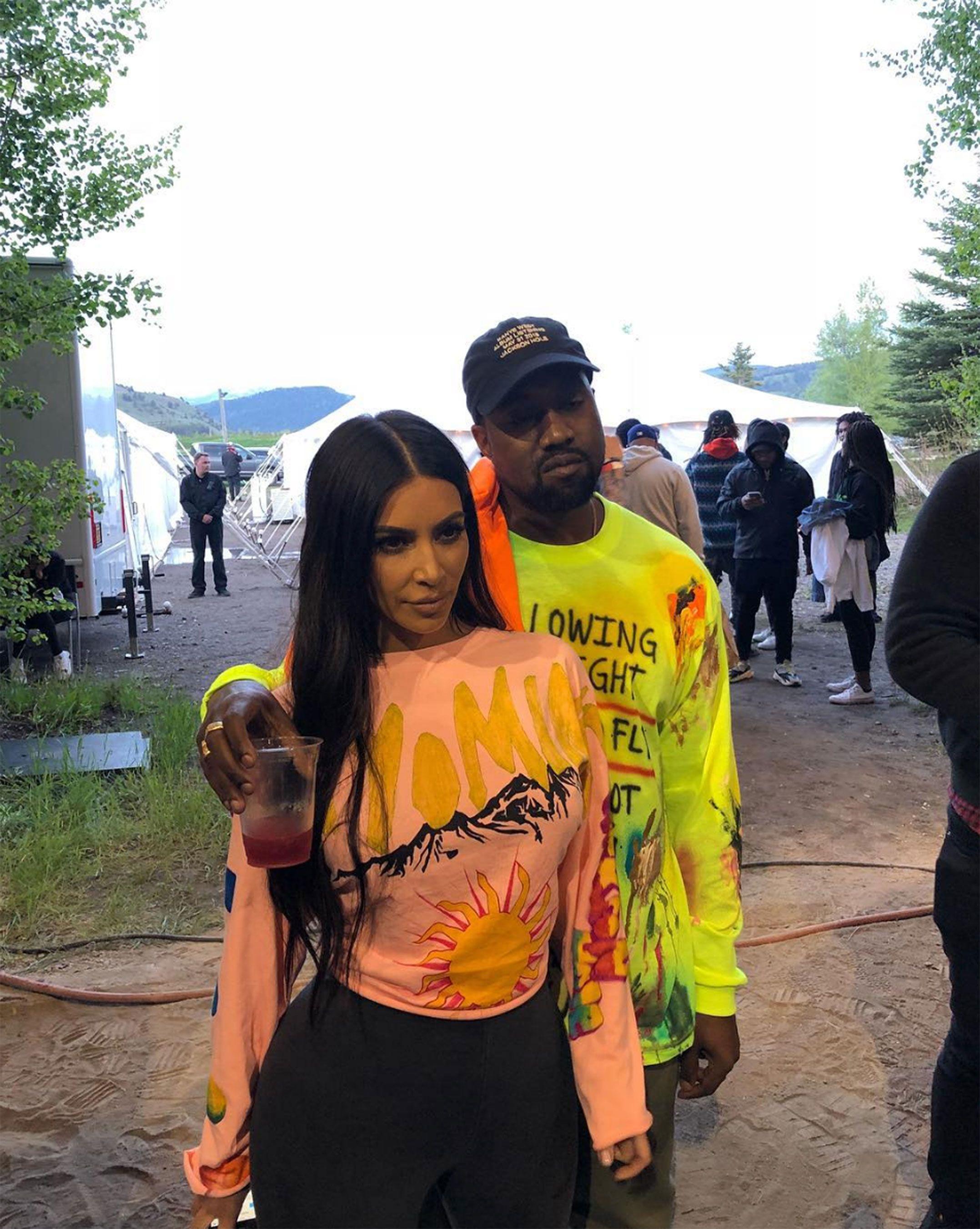Kanye West Raps About Kim Kardashian West Leaving Him Bipolar Disorder In 7 Track Album Ye Kim Kardashian And Kanye Kim Kardashian Kanye West Kanye West And Kim