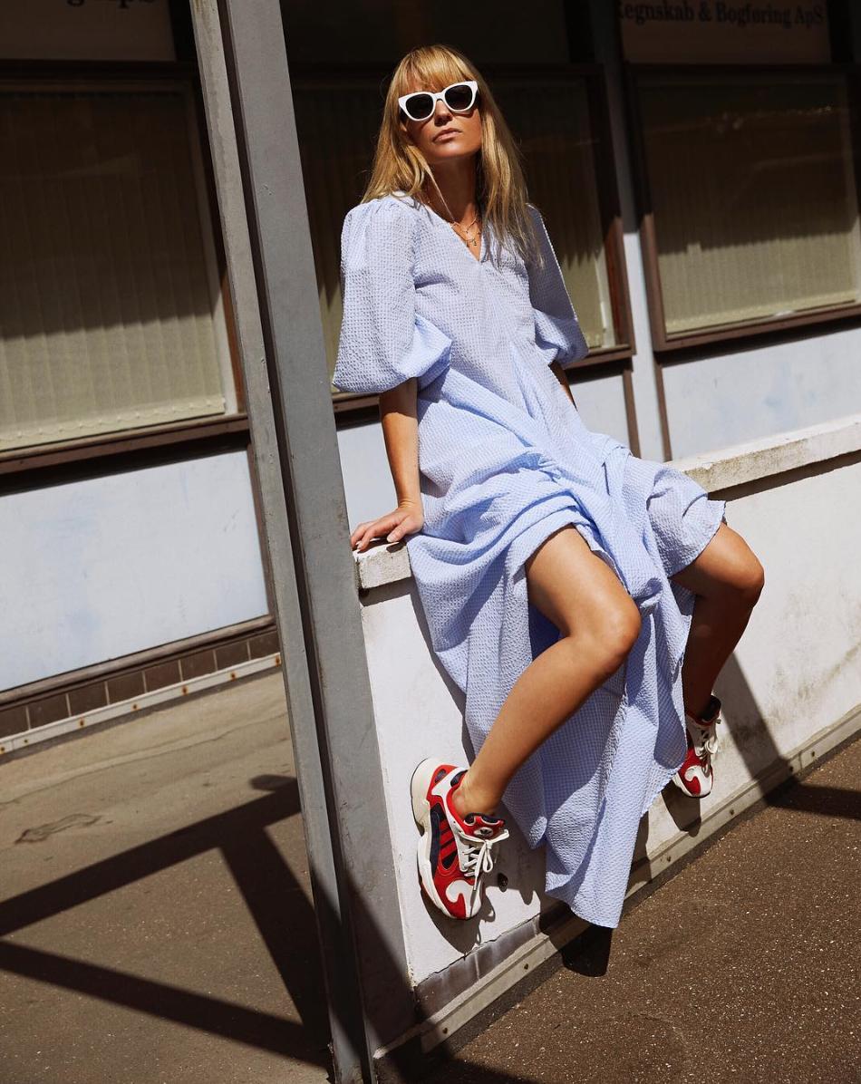 Jeanette Madsen   Charron Maxi Dress