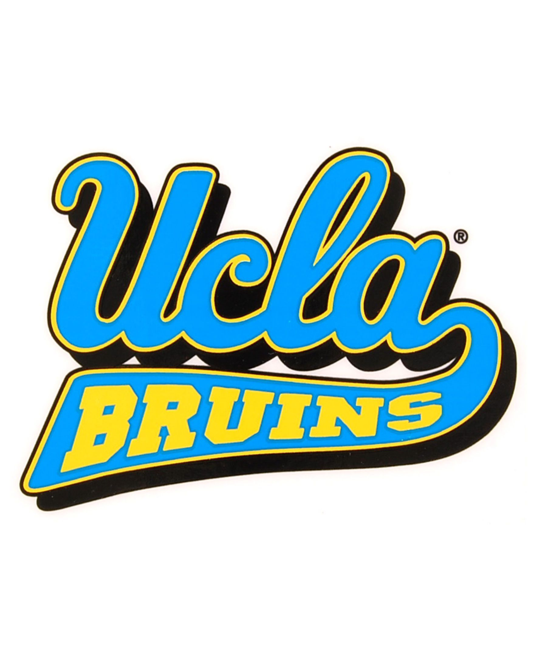 98025d3845a Rico Industries Ucla Bruins Static Cling Decal