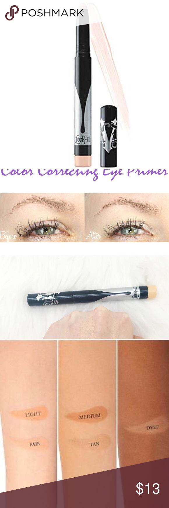 KAT VON D FAIR Lock It Color Corr. Eye Primer NWT Boutique