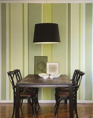 sala de jantar com papel de parede - Pesquisa Google