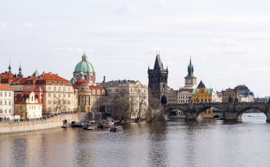 Prague : A beautiful city steeped in history and culture, where music and art in all its forms thrive after years of oppression. Source : adamharkus.com