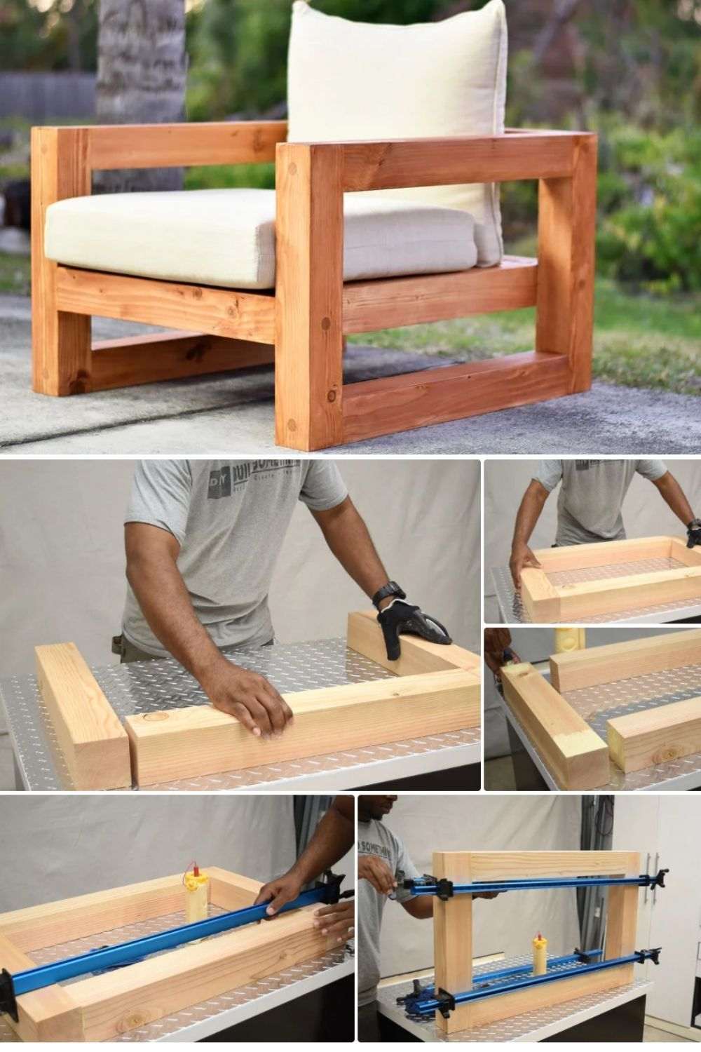 Photo of Easy DIY Wood Patio Chair Project