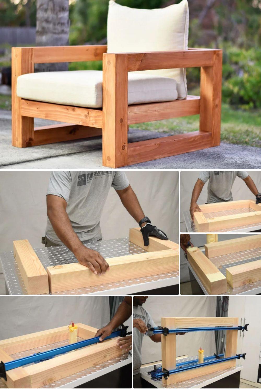 Einfaches DIY Holz Patio Stuhl Projekt – Sınırsız Bilim