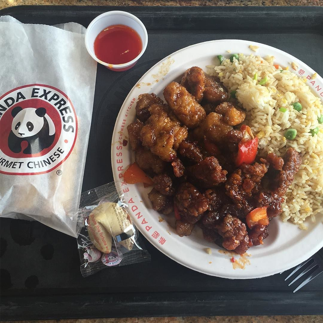 Yum Early Dinner In Muncieindiana Love Me Some Panda Express
