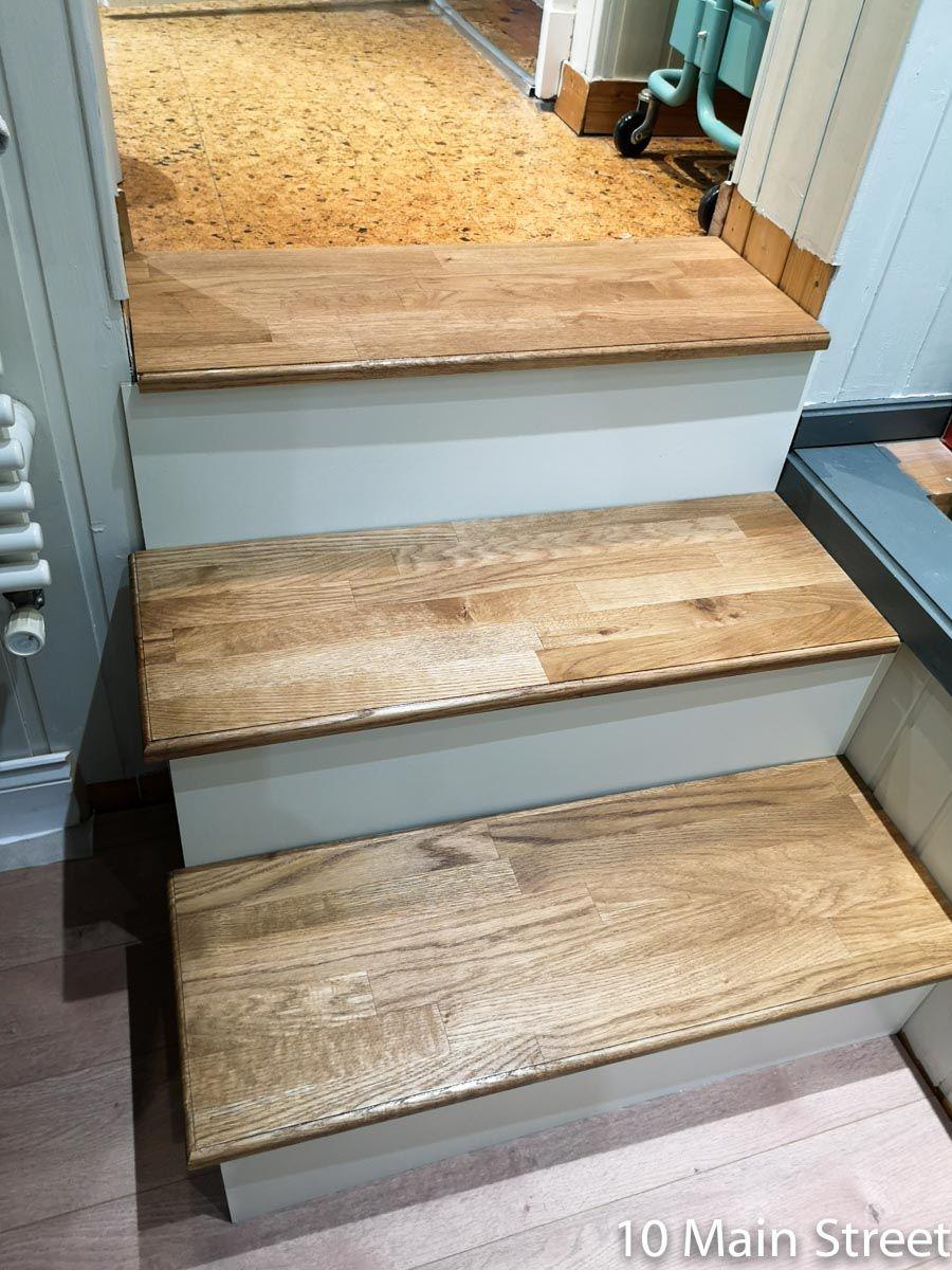 Un escalier moche ? Habillez-le ! en 2020   Renover escalier, Escalier relooking, Bois de coffrage