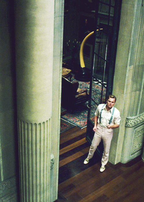 gatsby. awesome leo. good story. bad movie.