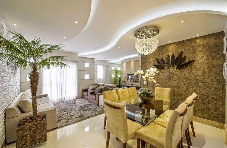 Apartamento decorado moderno e maravilhoso conhe a todos for Ambientes modernos interiores