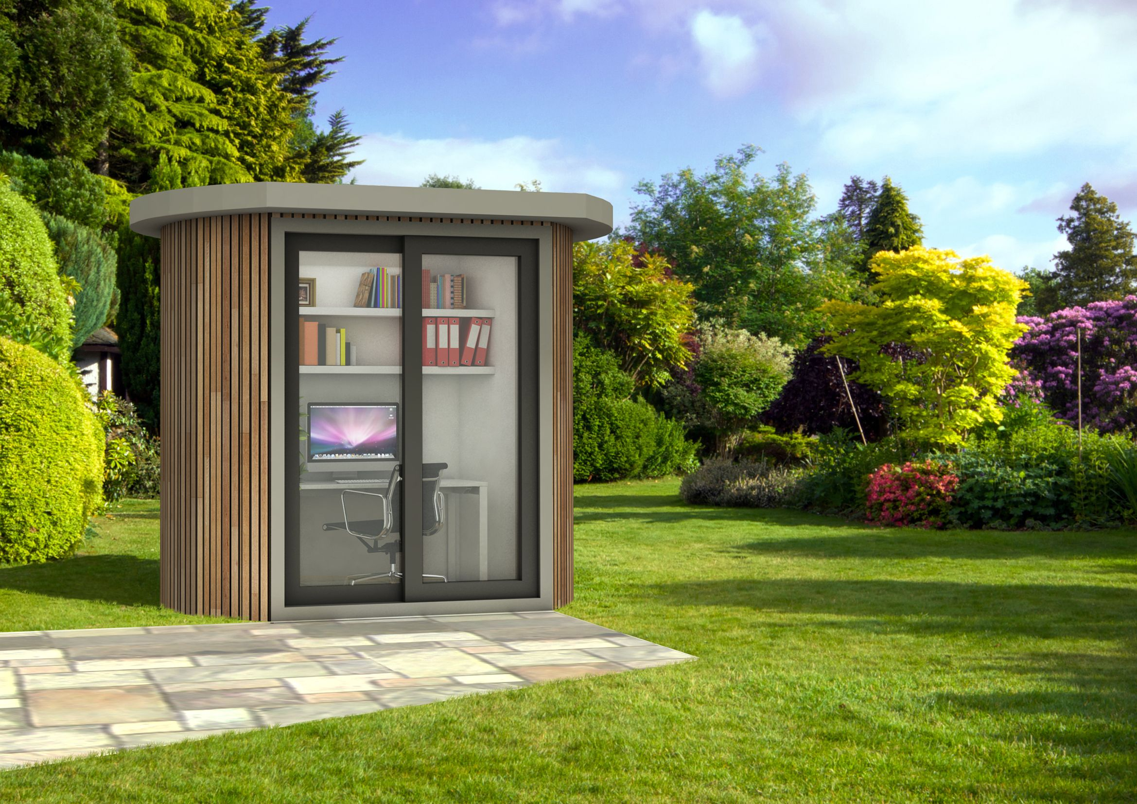 Wonderful Garden Rooms Design Ideas Part - 10: Small Garden Shed Garden Office Pods Ideas Modern Home Office Designs |  Awww SHED! | Pinterest | Garden Office, Office Designs And Modern