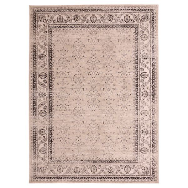 "Liberty Oriental Rugs Jas Machine Made Smoke Area Rug (3'3"" x 4'11"" Rectangle)"