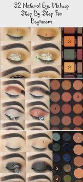 beginner auge makeup natürlich schritt einfaches