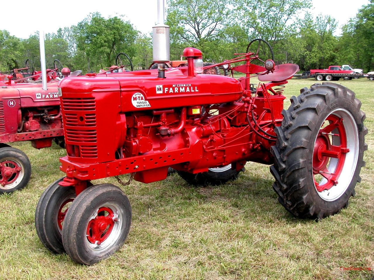 Farm All Tractor : Farmall m pictures cub allis chalmers g john