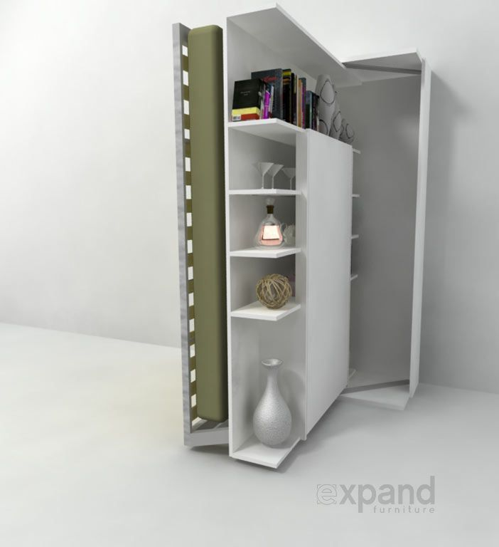 Marvelous Revolving BookCase Italian Wall Bed | Expand Furniture | Murphy Beds |  Pinterest | Wall Beds, Revolving Bookcase And Murphy Bed Design