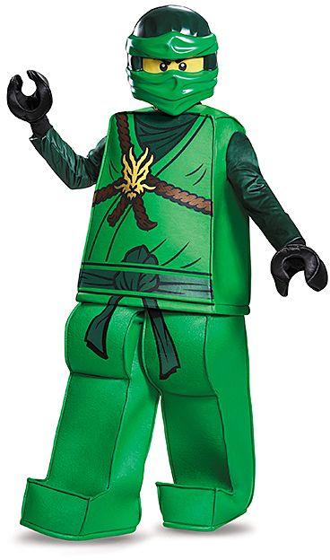 Brand New Ninjago Lloyd Movie Prestige Child Costume