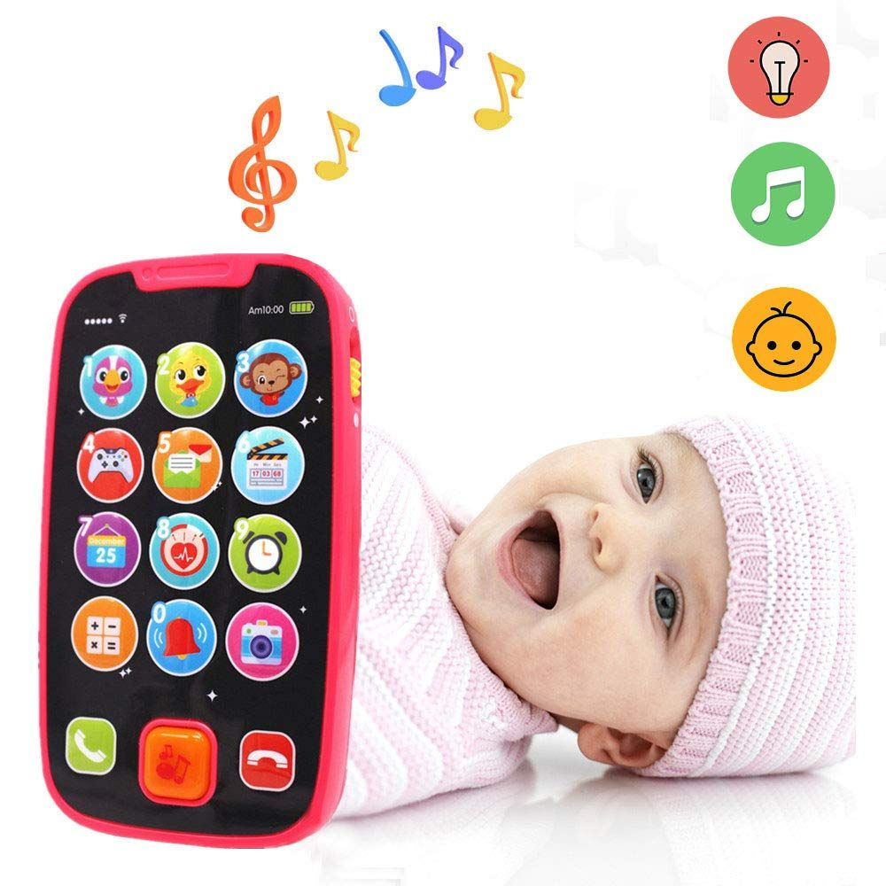 Baby 12 Monate Amazon 70% Off Code $3.90 Early Educational Baby Phone. | Phone, Galaxy S8 Phone Cases, Touch Screen Phones