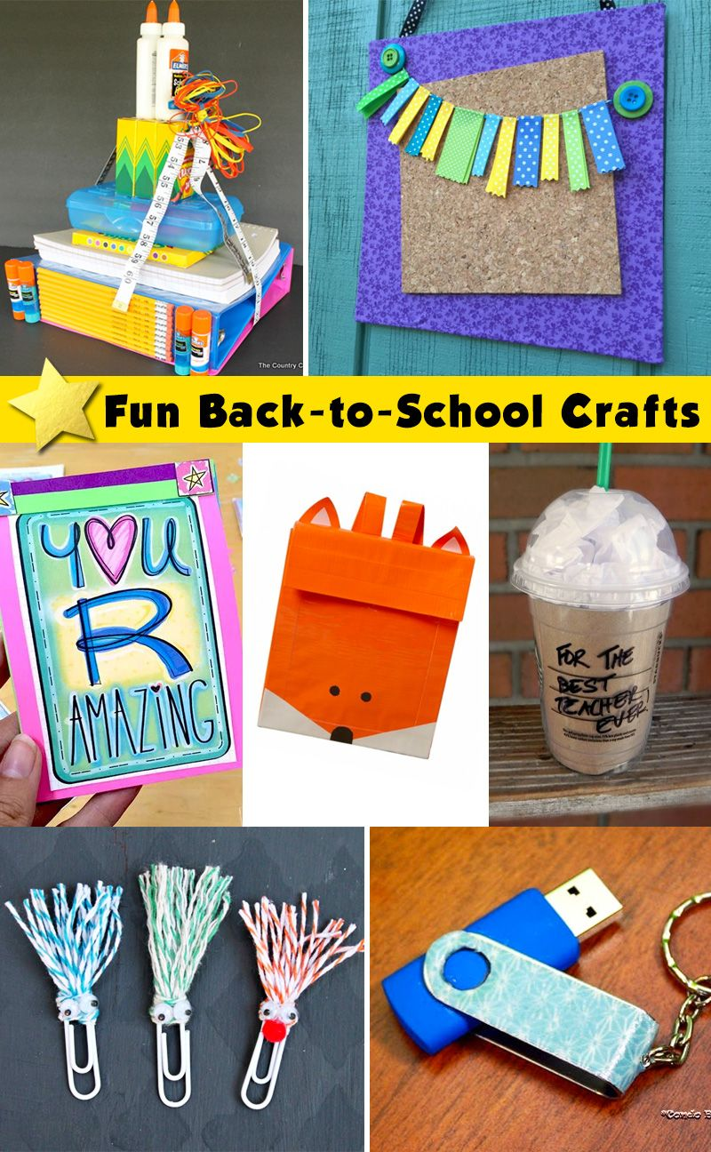 108 best Back to School Crafts images on Pinterest   Back to ...