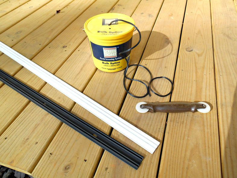 Screen Your Porch In 3 Easy Steps Porch Makeover House With Porch Screened In Porch Diy