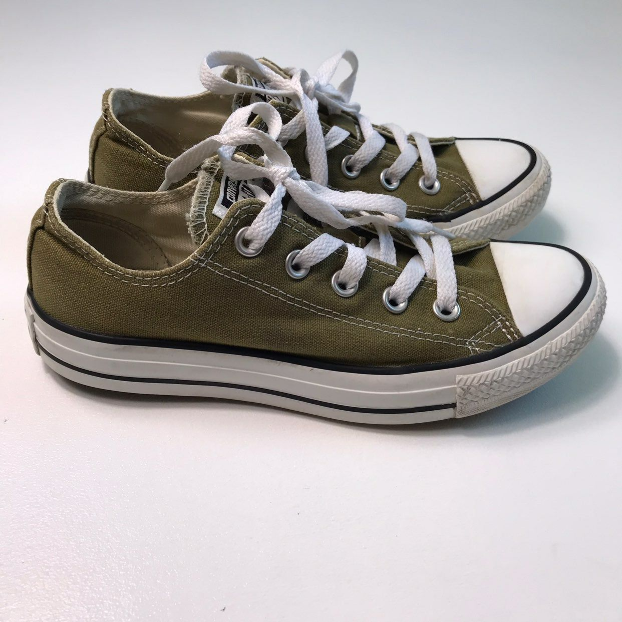 Unisex Sneakers Shoes, olive green
