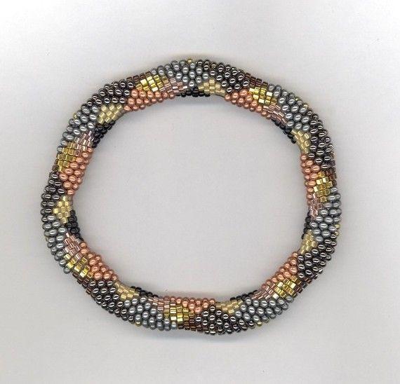 Bead Crochet Pattern Jigsaw Diamonds and by WearableArtEmporium, $7.50