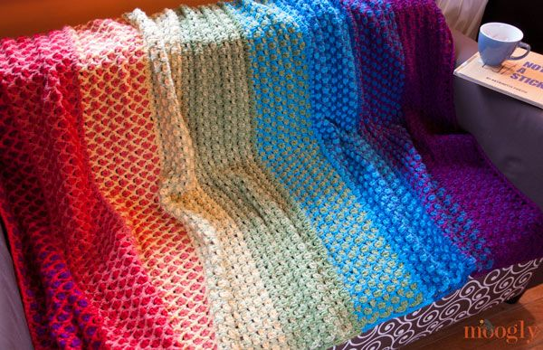 The Moroccan Tile Afghan Free Crochet Pattern With Instructions