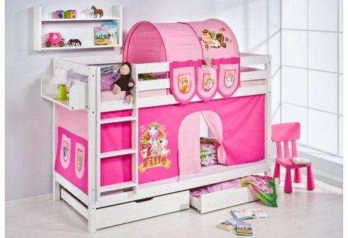 Caballeros y princesas camas semi altas y literas para - Camas infantiles de princesas ...