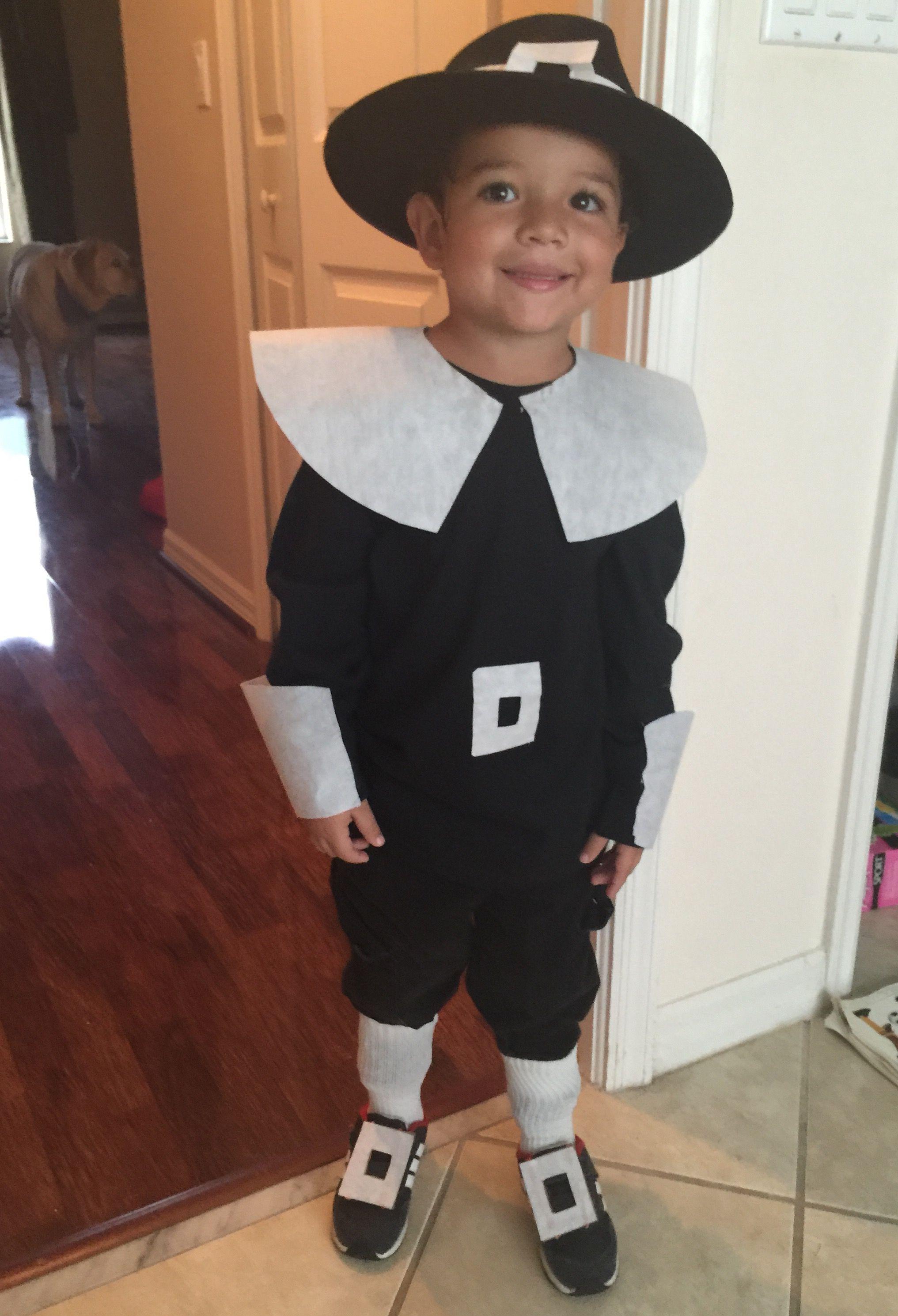 Pilgrim costume boy Copas Boda dc4a6184670b