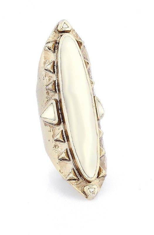 Long Wood Ring | Glamhouse