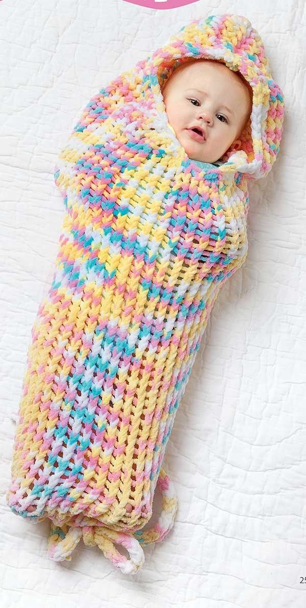 Loom Knit Baby Wraps | Loom knitting blanket, Loom ...