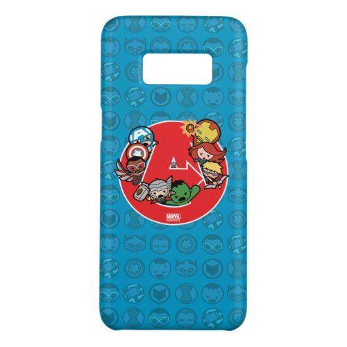 Kawaii Avengers Inside A-Logo Case-Mate Samsung Galaxy S8 Case   marvel superheroes funny, marvel comics strip, thanos marvel #Marvelfan #MarvelandDC #marvelentertainment, 4th of july party