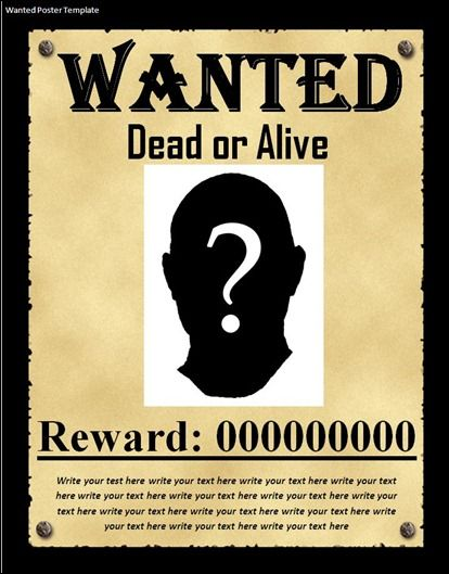 8th Grade American History Dickersonu0027s Classroom American - most wanted poster templates