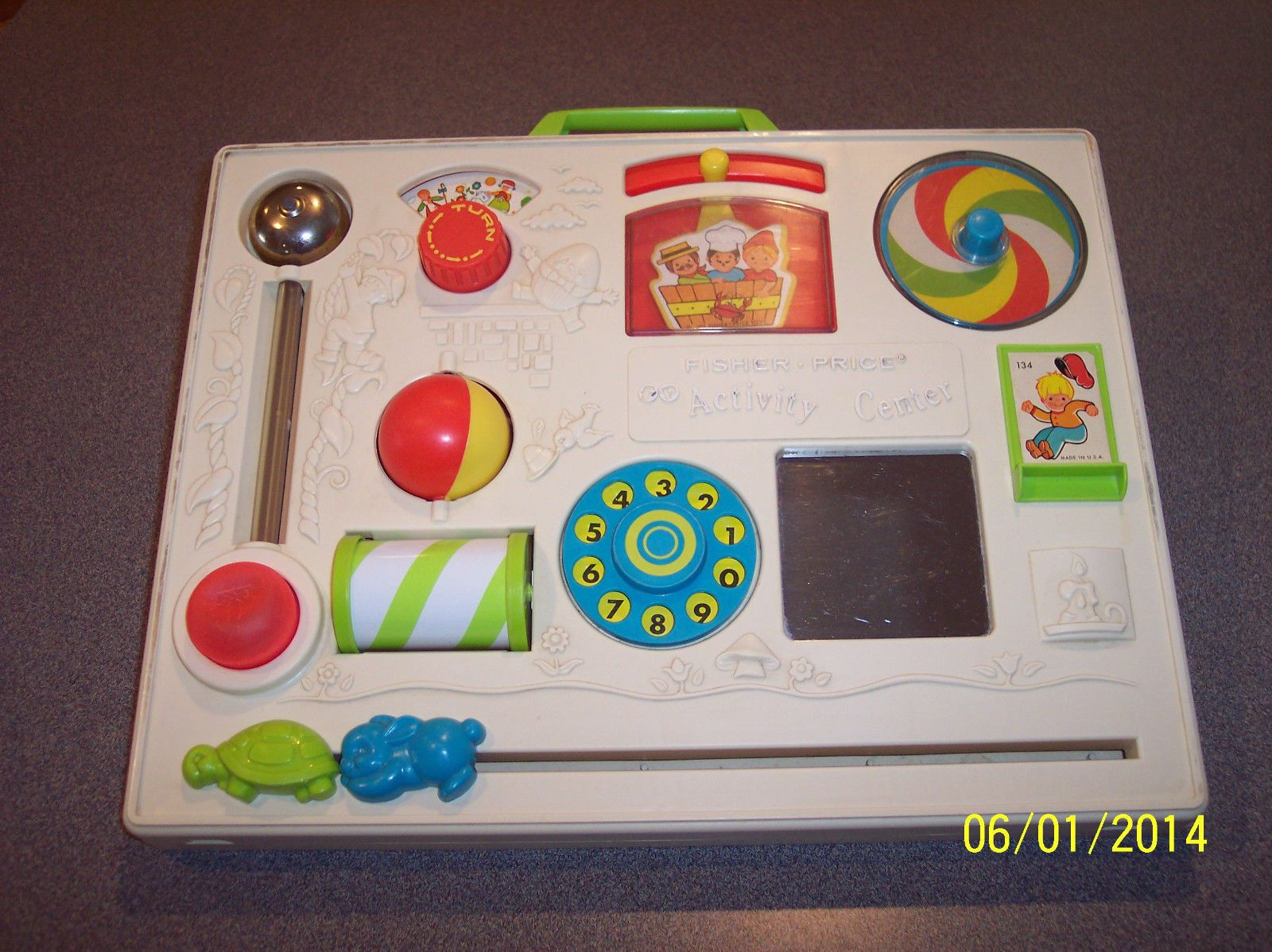 Vintage 1973 Fisher Price 134 Activity Center Retro