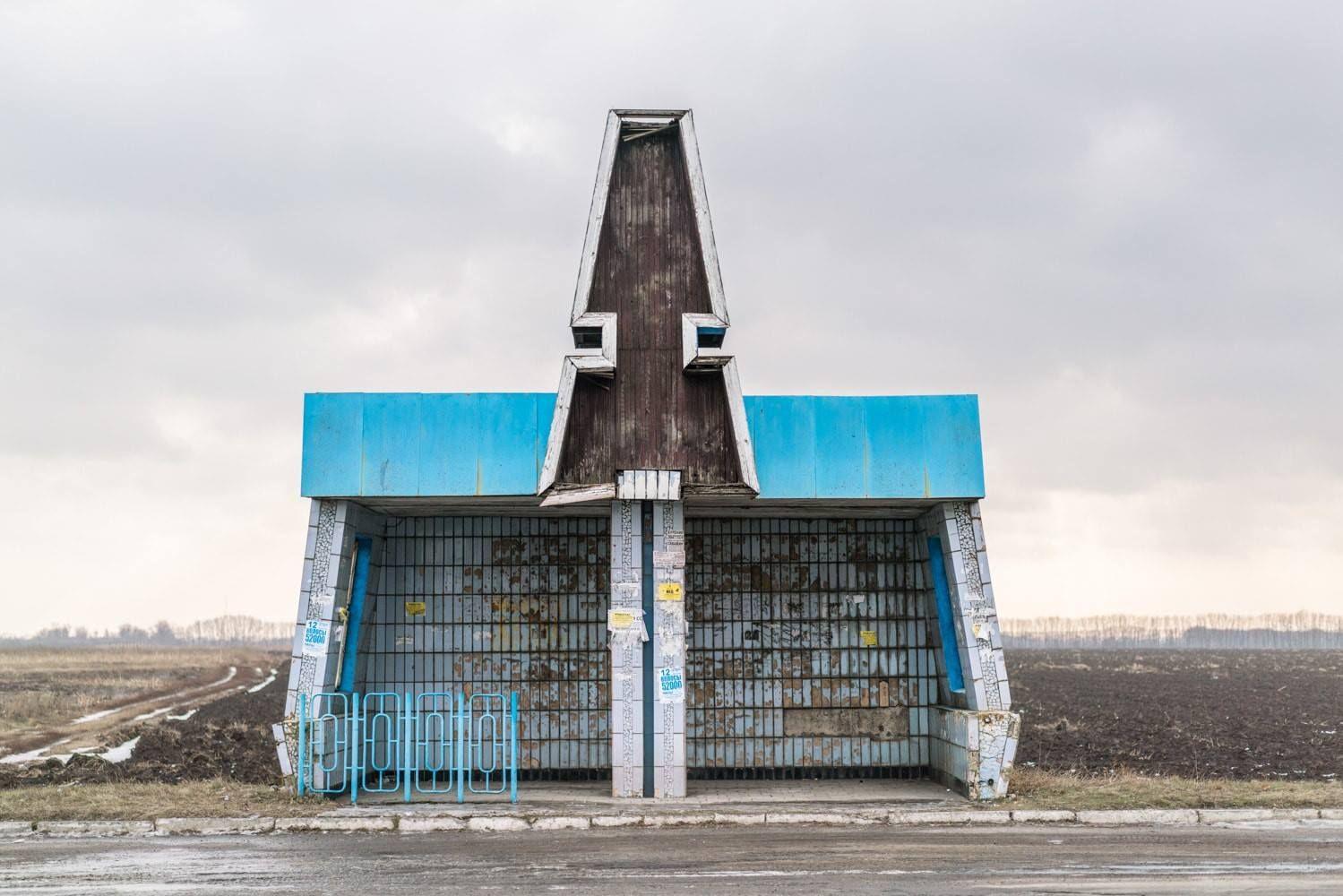 Soviet bus stops volume ii christopher herwig bus stop