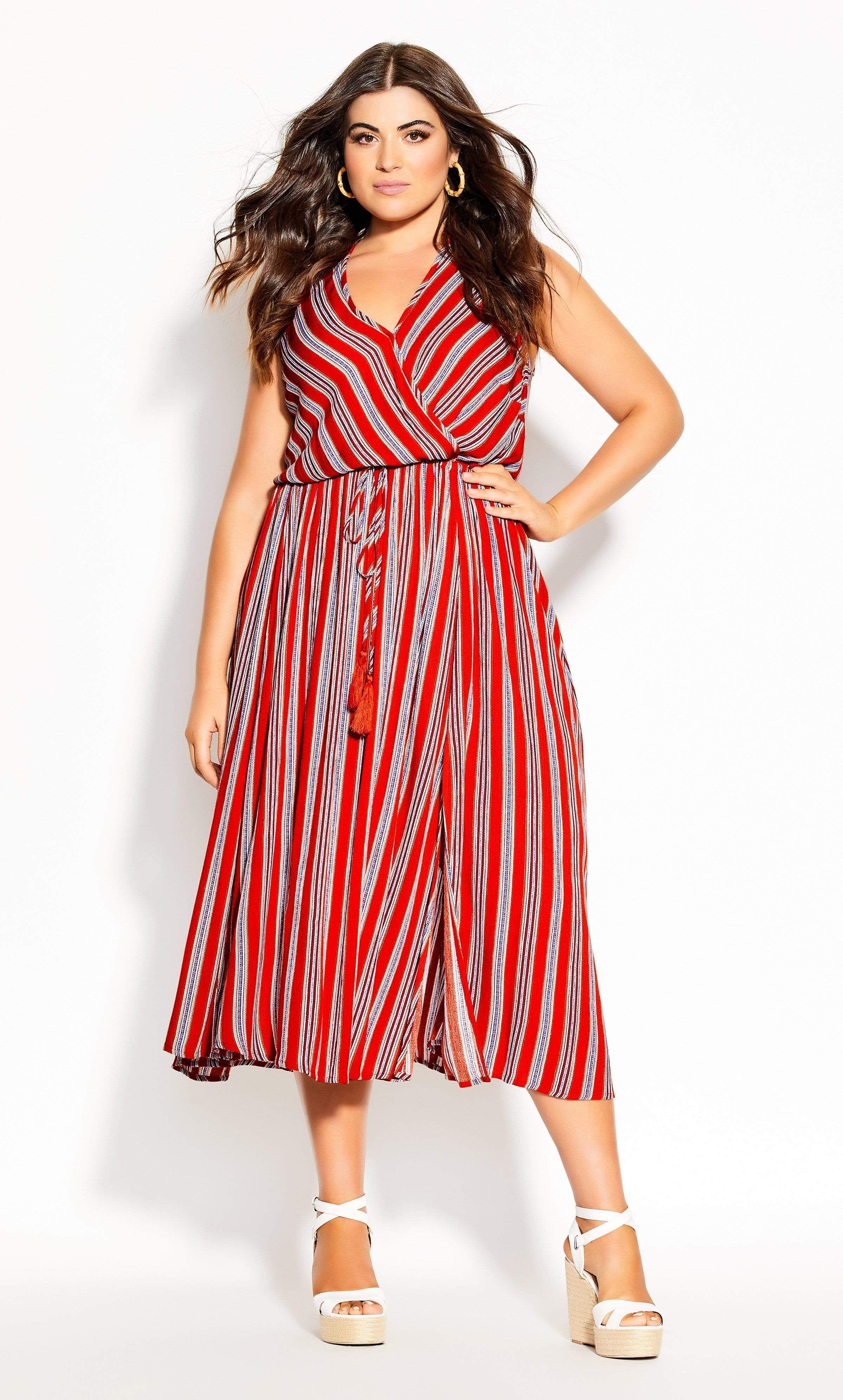 City Chic Summer Sunset Stripe Maxi Dress In Tigerlily Striped Maxi Dresses Maxi Dress Striped Maxi [ 3984 x 2400 Pixel ]