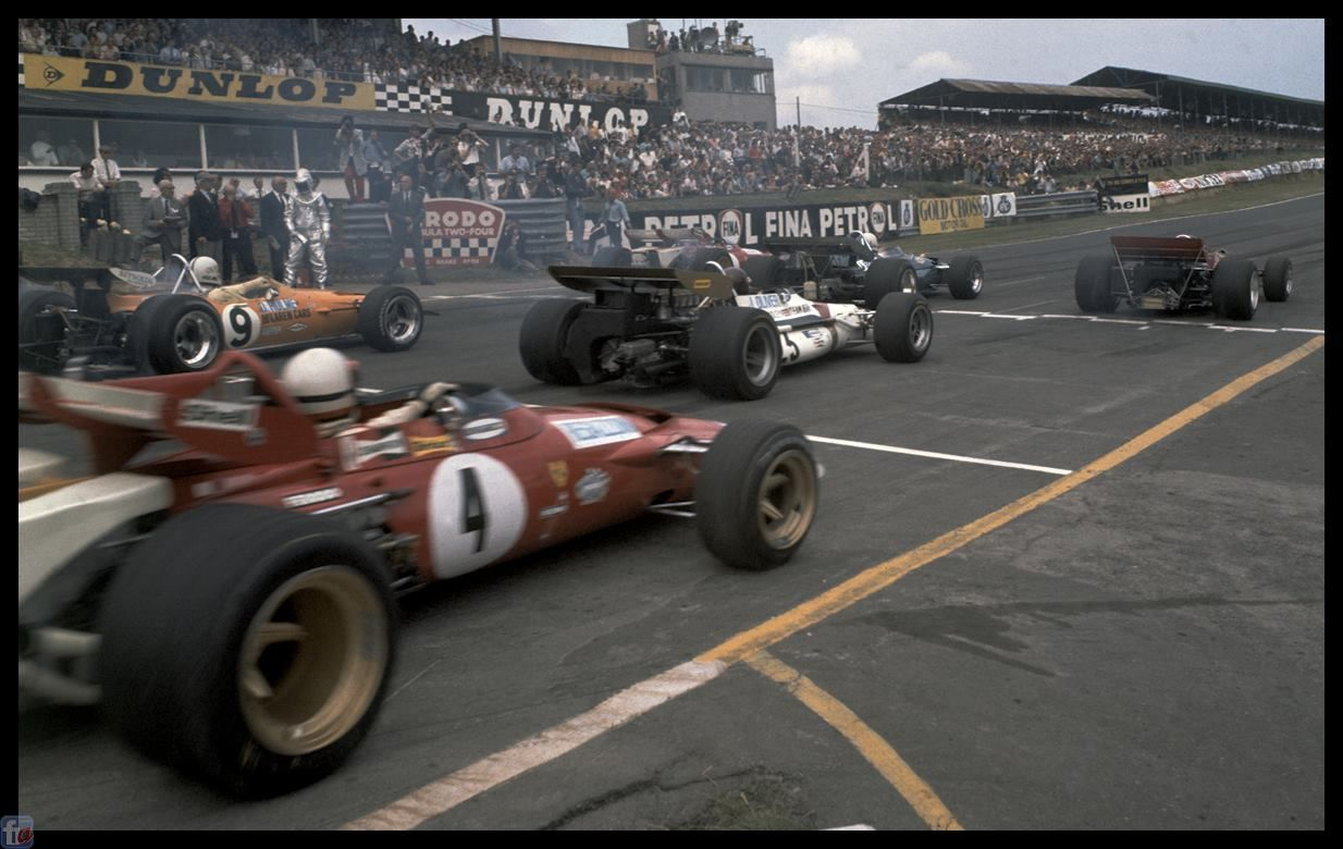 Brands Hatch '70 Classic racing cars, Classic racing
