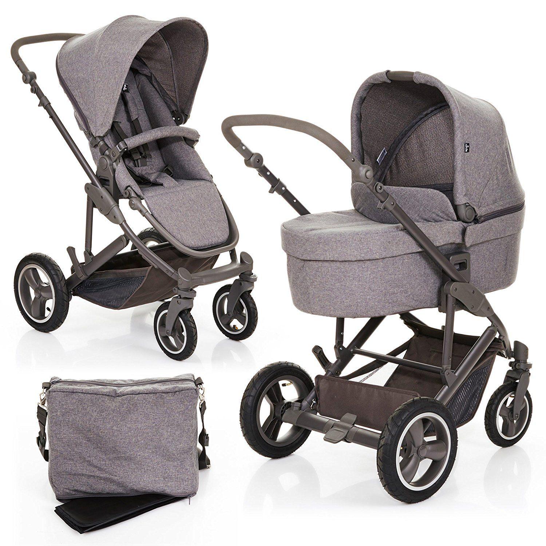 Abc Design Kombi Kinderwagen Set 2in1 Catania 4 Air Mit Luftreifen
