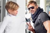 Ricky Martin llegó a Uruguay con sus pequeños, Matteo y Valentino